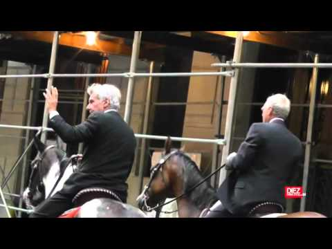 Harrison Ford, a caballo por Nueva York
