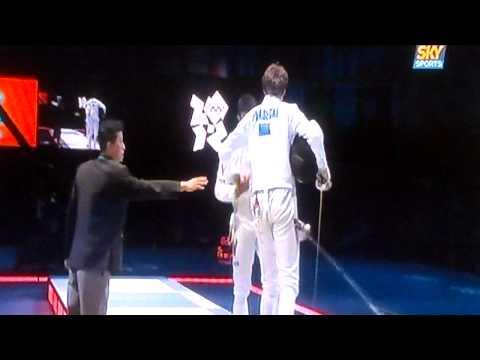 Rubén Limardo logra Oro para Venezuela en los JJOO Londres 2012