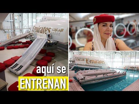 ASÍ ENTRENAN LAS AZAFATAS DE EMIRATES | Ceci de Viaje