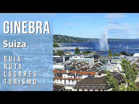 Guía de GINEBRA, SUIZA. Ruta, lugares, turismo, city tour. Qué ver, hacer y visitas recomendadas