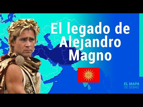 ⚔La HISTORIA del IMPERIO MACEDÓNICO de ALEJANDRO MAGNO (Reino de Macedonia) en 12 minutos⚔