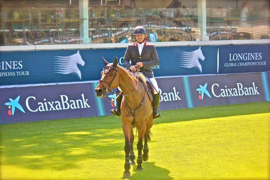En 2017 Gustavo Mirabal hizo sonar el Gloria al Bravo Pueblo en el Longines Athina Onassis Horse
