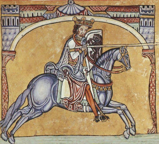 El caballo Babieca y el Cid