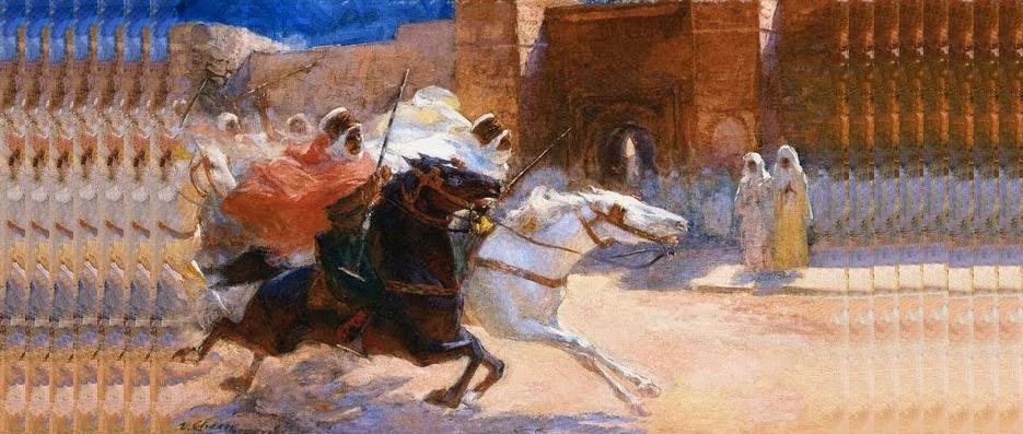 Lazlos, el caballo de Mahoma