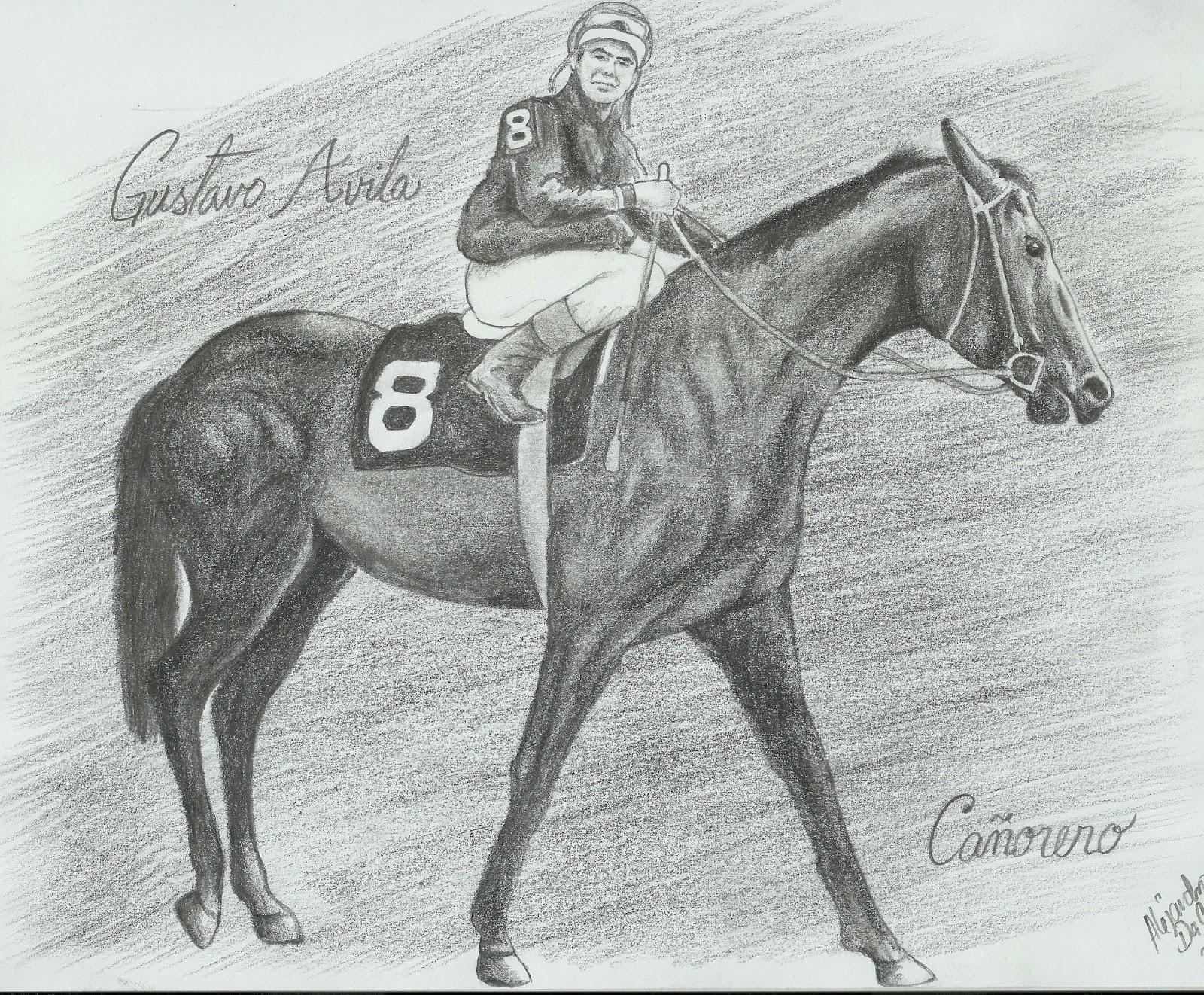 Cañonero II un caballo venezolano