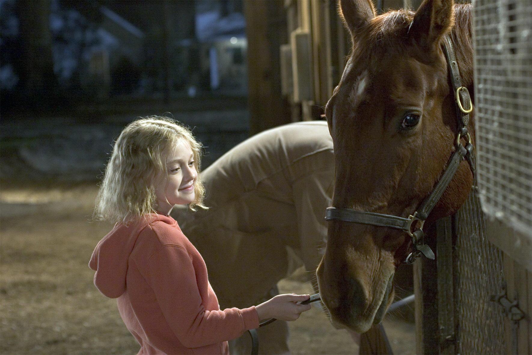 """El caballo en la película """"En busca de un sueño"""""""