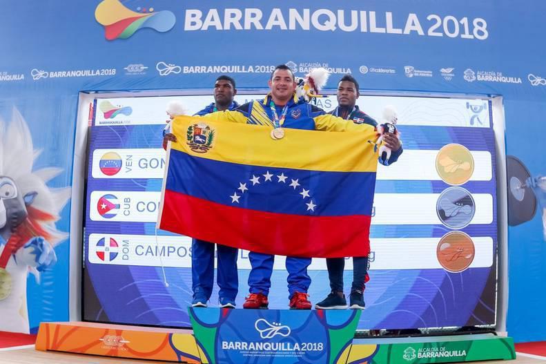 Venezuela 4ta en los Juegos Centroamericanos y del Caribe 2018