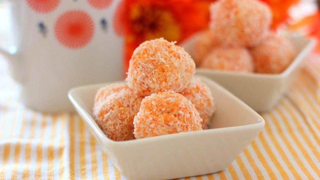 receta bolitas de zanahoria