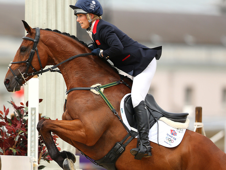 Zara Phillips amazona