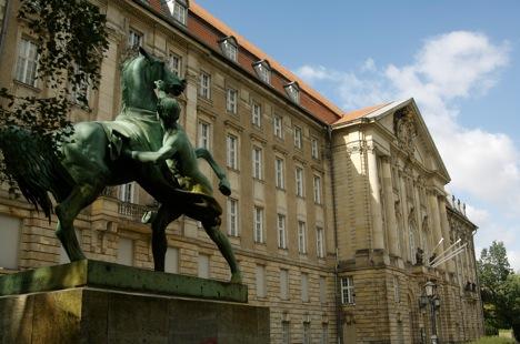 Escultura de Peter Clodt von Jürgensburg