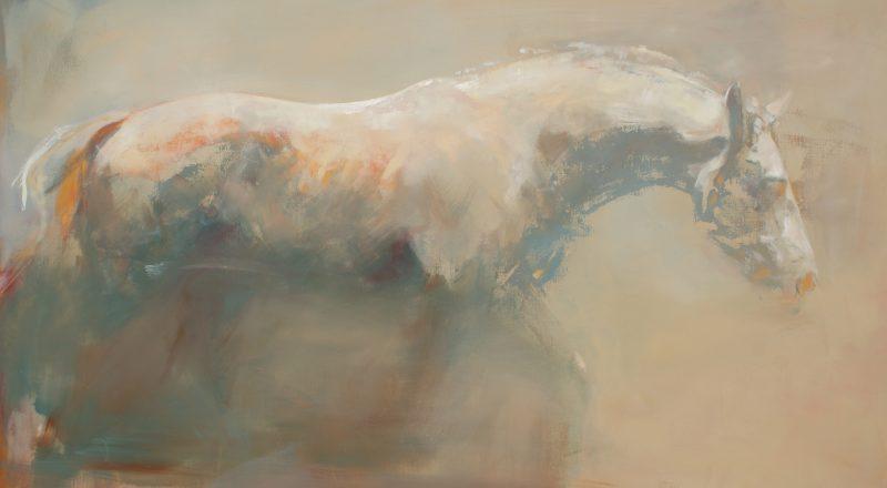 Cuadro de caballo pintado por Michelle MacCullagh