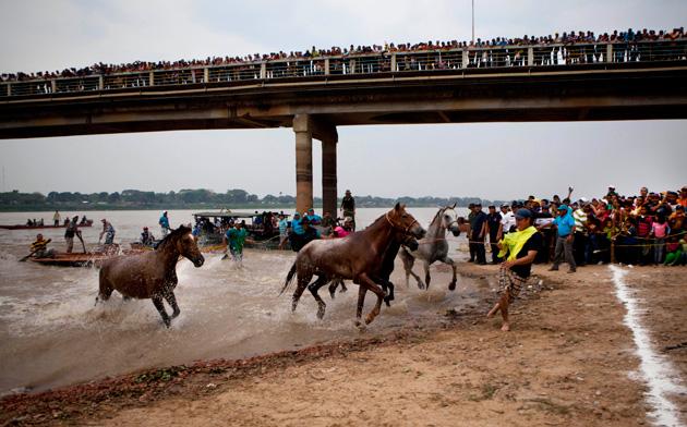 carrera de caballos de Apure