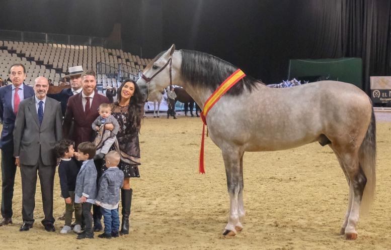 caballo de sergio ramos