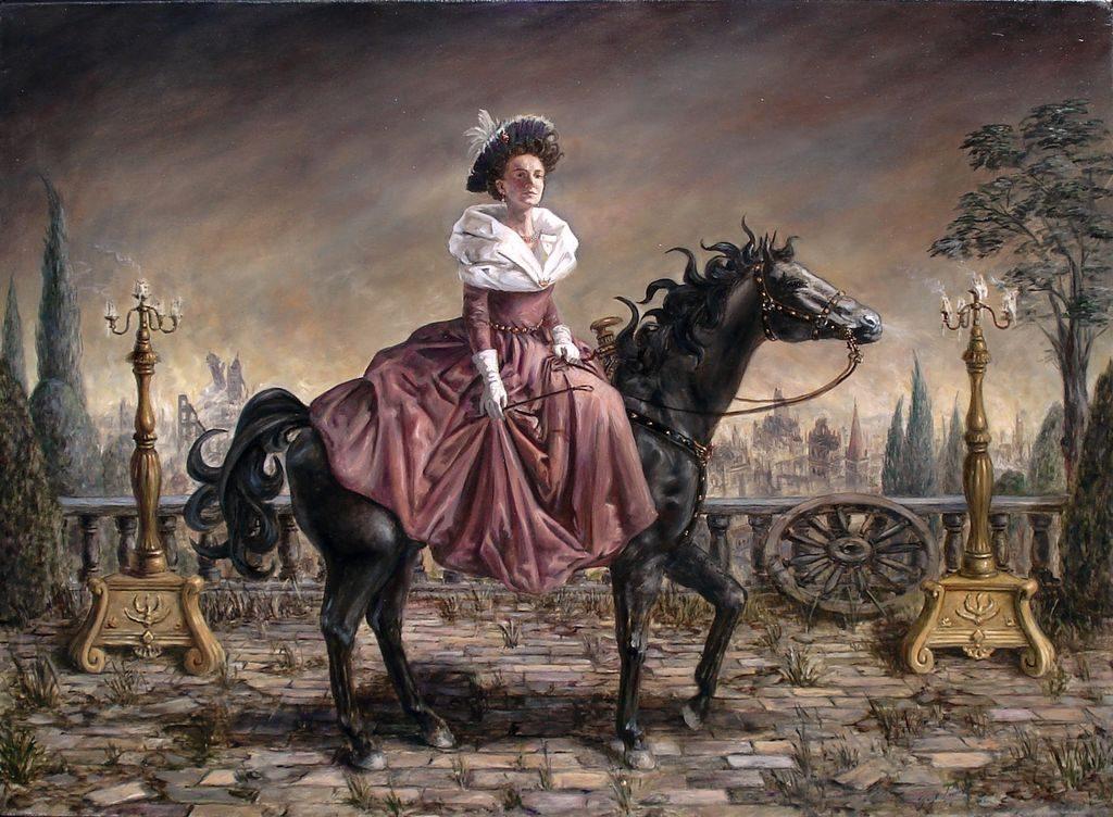 El caballo en las artes