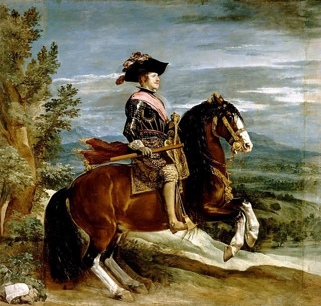 el retrato ecuestre: el caballo