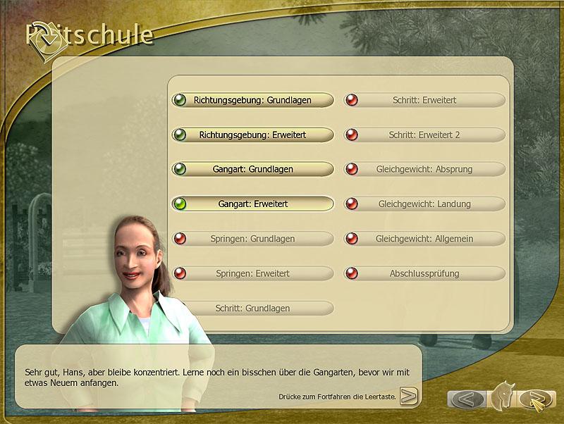 Video juego » Isabell Werth – Reitsport «
