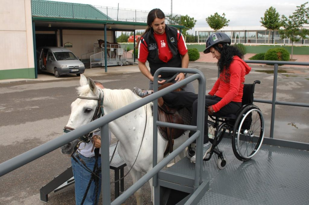 Equinoterapia en pacientes parapléjicos