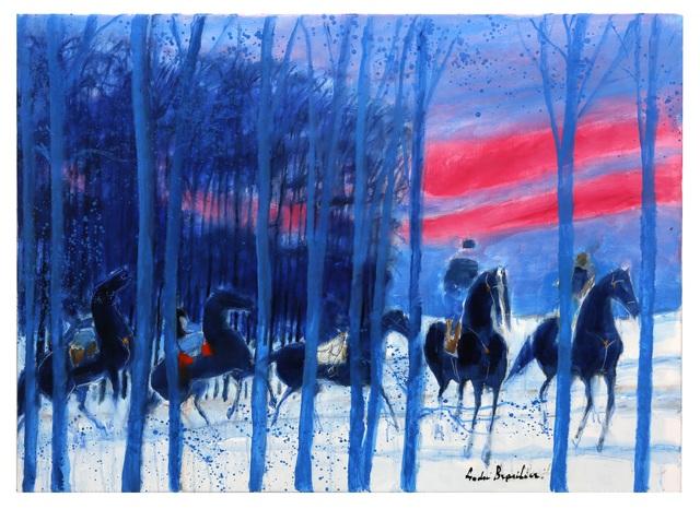 Los caballos divinos del pintor Andre Brasilier
