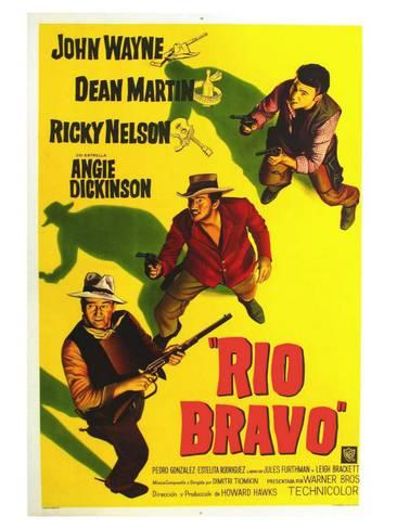 Carte película Rio Bravo