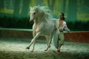 Frederick Pignon danza con caballos