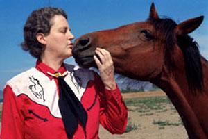Temple Grandin y Caballo