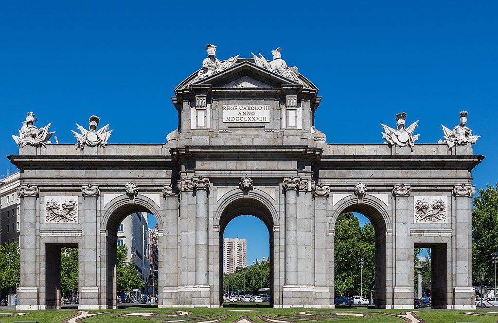 ¡Qué  maravilla, conoceremos  Madrid! Madrid, Madrid, Madrid… – Gustavo Mirabal