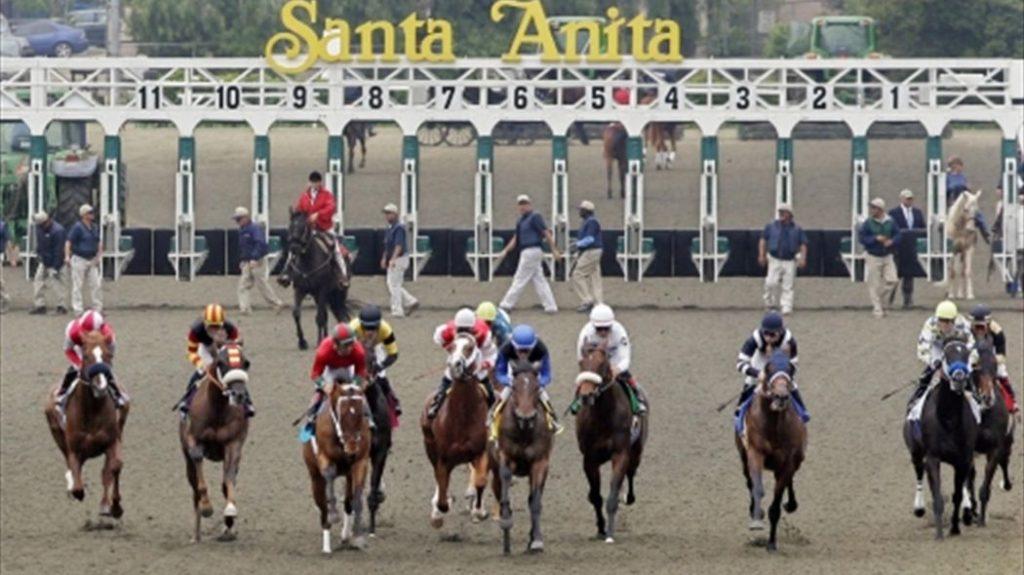 hipódromo Santa Anita