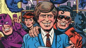 Los Avengers en el programa de David Letterman