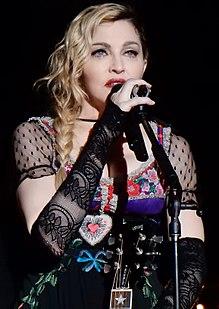 Madonna en concierto en 2015