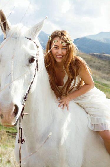 Miley Cyrus una amante de los animales