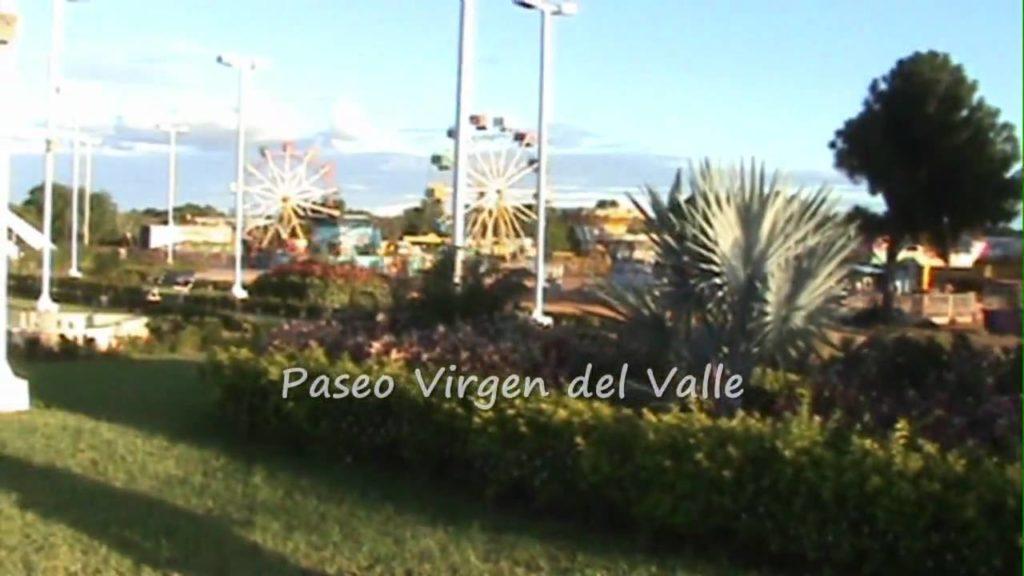 Pseo de La Virgen del valle en El Tigre