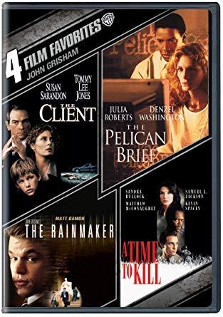 4 películas basadas en libros de Jhon Grisham