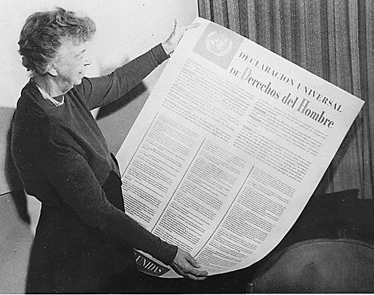 Eleanor Roosvelt y la Declaración Universal de los Derechos Humanos