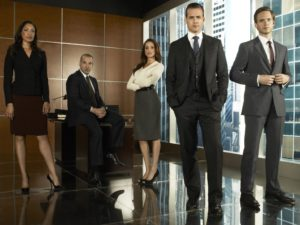 Foto del elenco de la serie de tv Suits