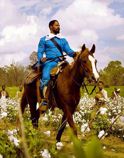 Jamie Foxx una celebridad amante de los caballos