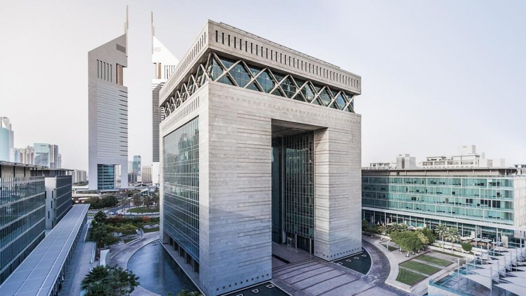La oficina de Gustavo Mirabal está en el Centro Financiero Internacional de Dubai