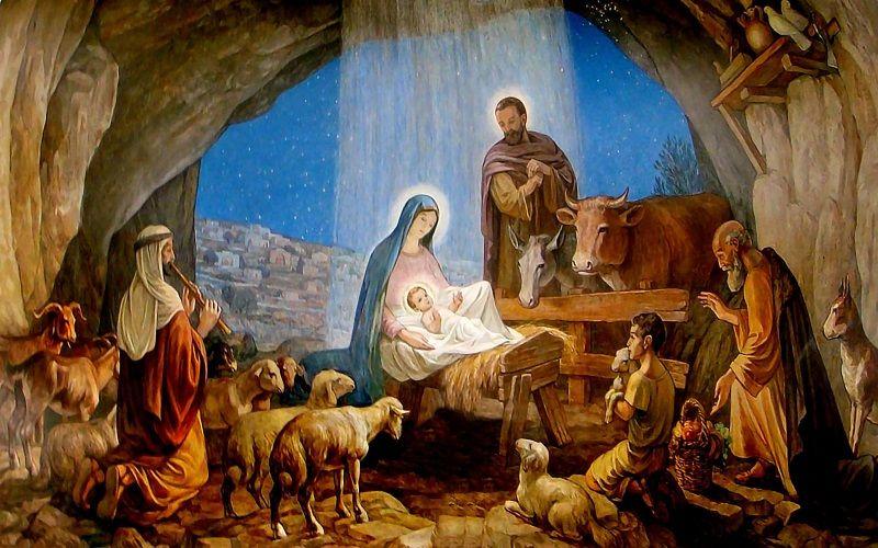 El pesebre y el Niño Jesús en Venezuela