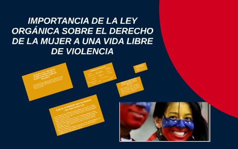LEY  SOBRE EL DERECHO DE LAS MUJERES A UNA VIDA LIBRE DE VIOLENCIA