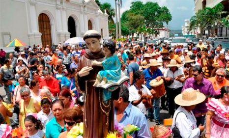 EL TAMUNANGUE A MI PADRE SAN ANTONIO – VENEZUELA