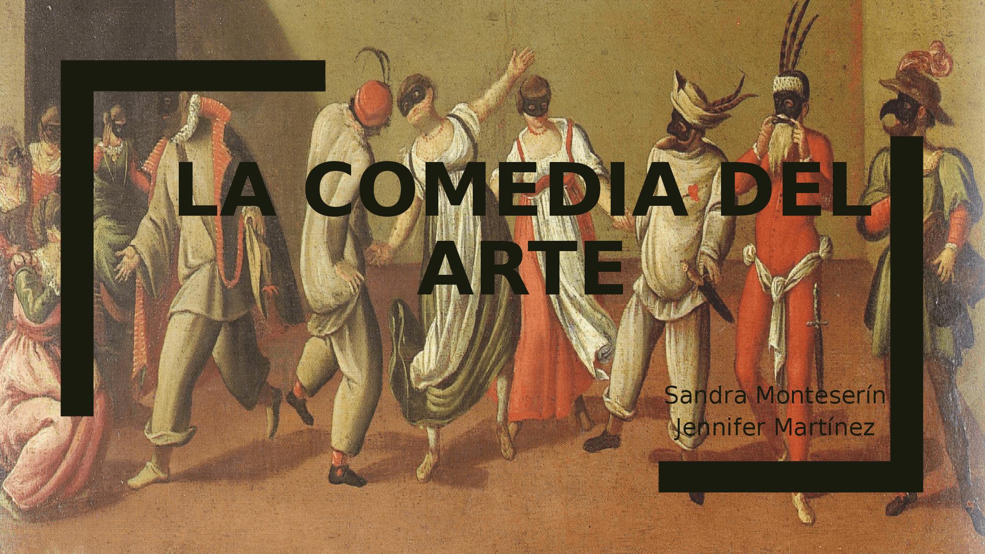 La comedia del arte – Gustavo Mirabal