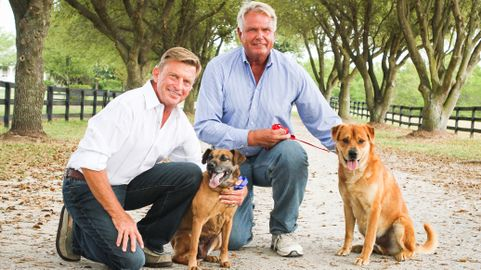 Gustavo Mirabal-Danny Robertshaw de entrenador de caballos a rescatista de perros 3