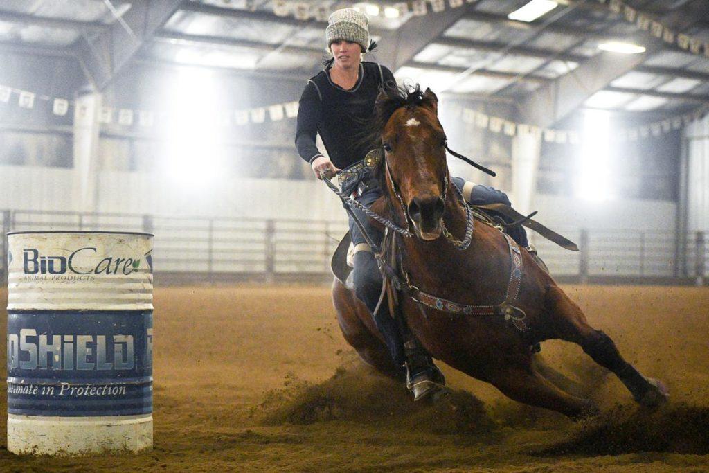 Amberley Snyder vuelve a competir