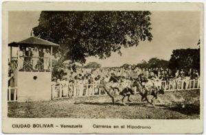 Primera carrera de caballos en Venezuela