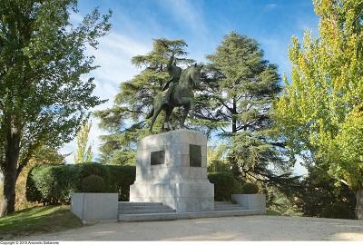 El monumento aSimón Bolívar: