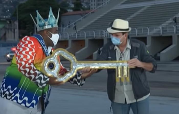 Carnaval de Río de Janeiro en tiempos de pandemia