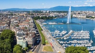 Ginebra, capital de Suiza