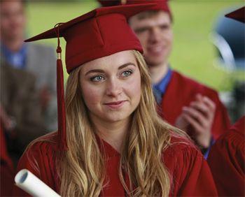 Graduación de Amy Fleming