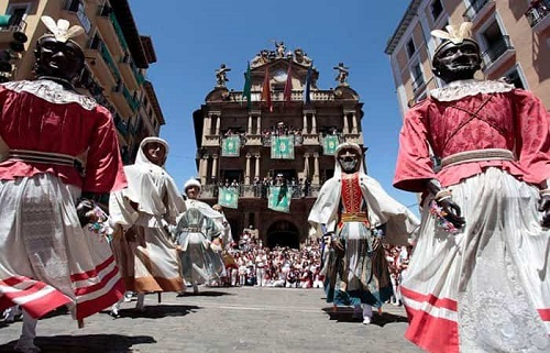 Las Fiestas de San Fermín en pamplona