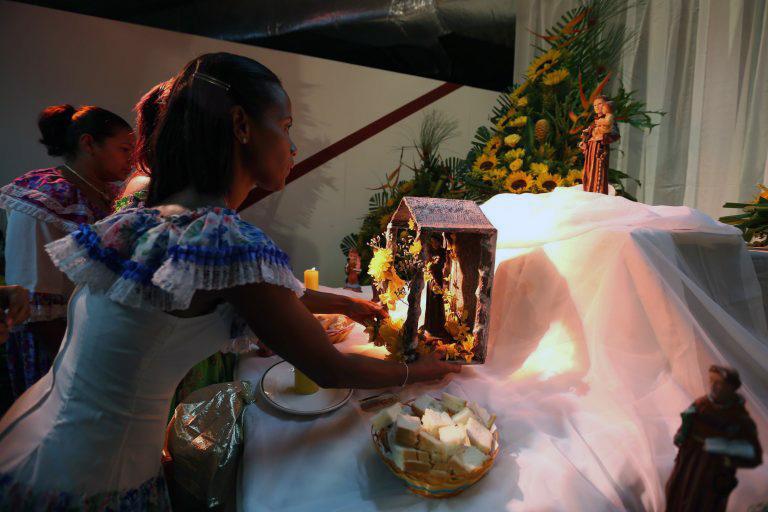 Tamunangue en honor a San Antonio de Padua